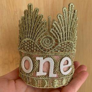 Handmade birthday crown